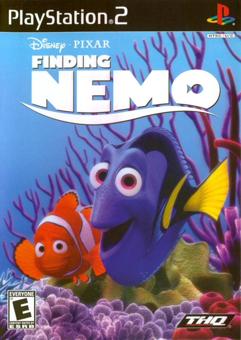 Disney•Pixar Finding Nemo PlayStation 2 Front Cover