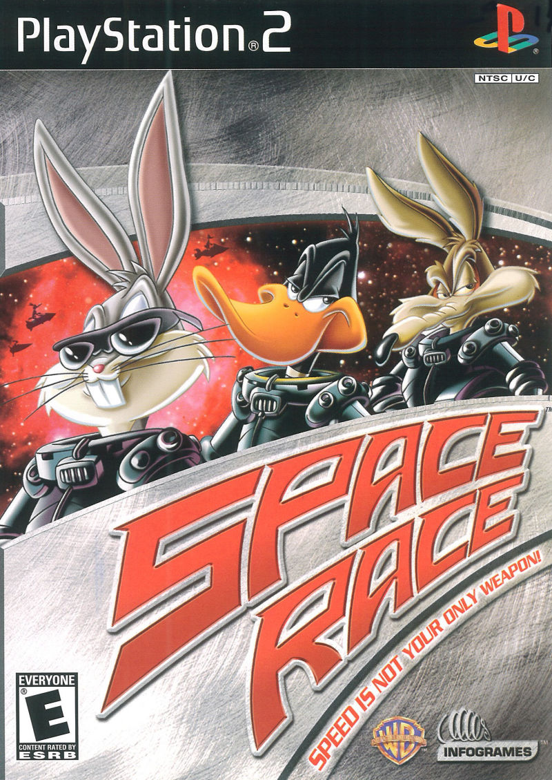 Looney Tunes: Space Race PlayStation 2 Front Cover