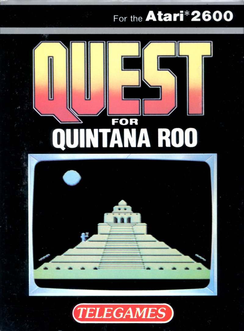 Quest for Quintana Roo Atari 2600 Front Cover