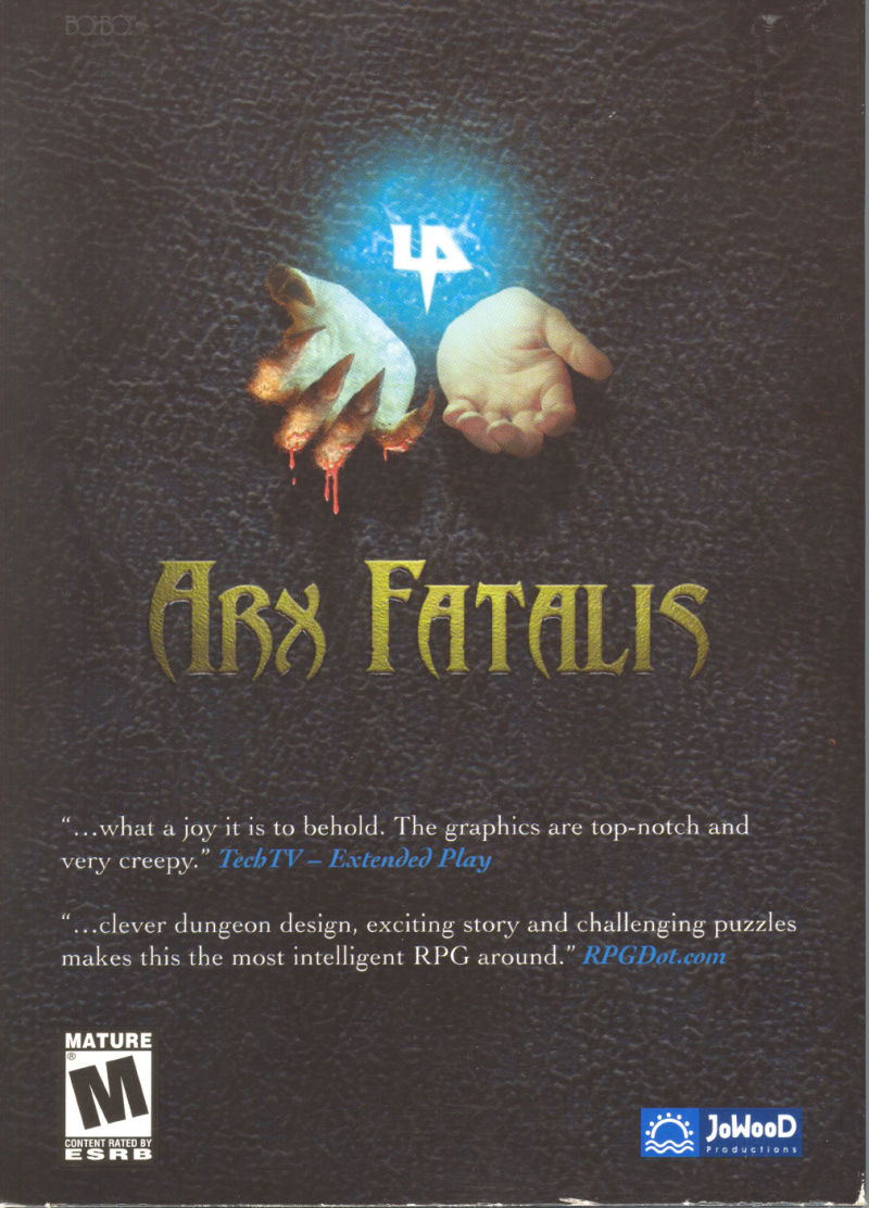 Arx Fatalis Windows Front Cover