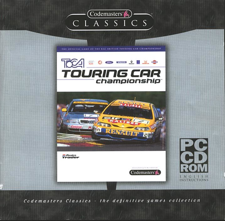 TOCA Touring Car Championship Windows Other Jewel Case - Front