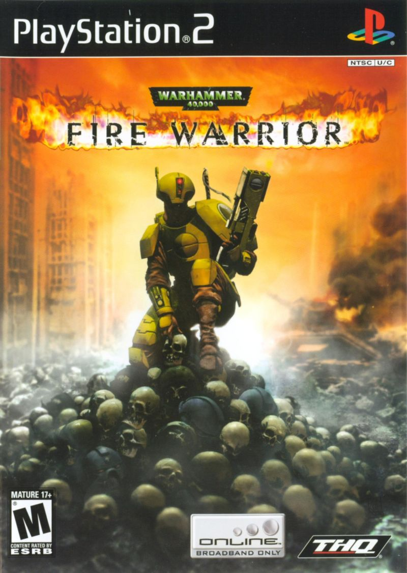Warhammer 40,000: Fire Warrior PlayStation 2 Front Cover