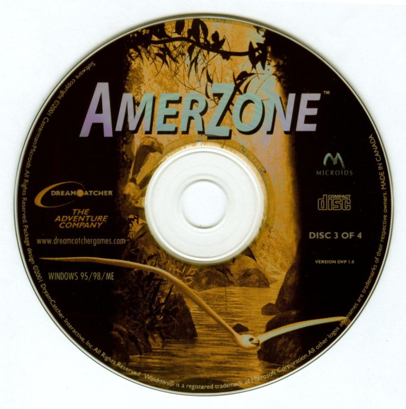 Amerzone: The Explorer's Legacy Windows Media Disc 3