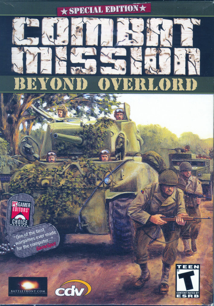 Combat Mission: Beyond Overlord Windows Front Cover