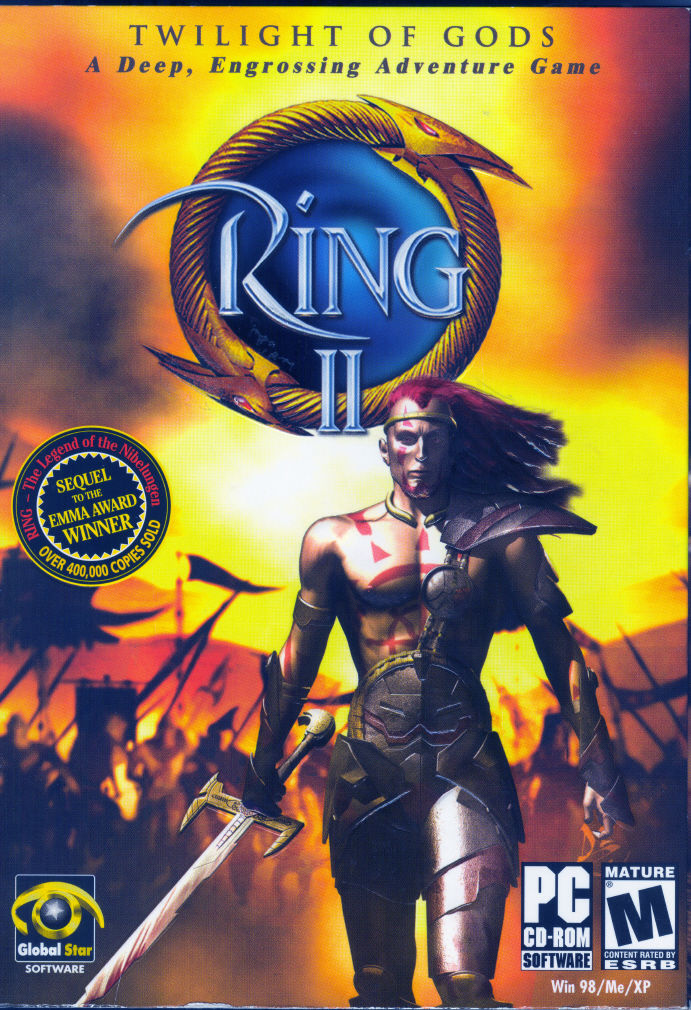 Ring II: Twilight of the Gods Windows Front Cover