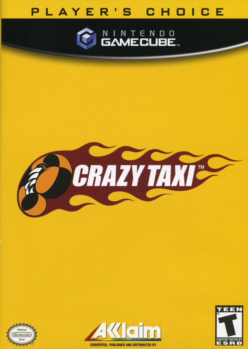 Crazy Taxi GameCube Front Cover