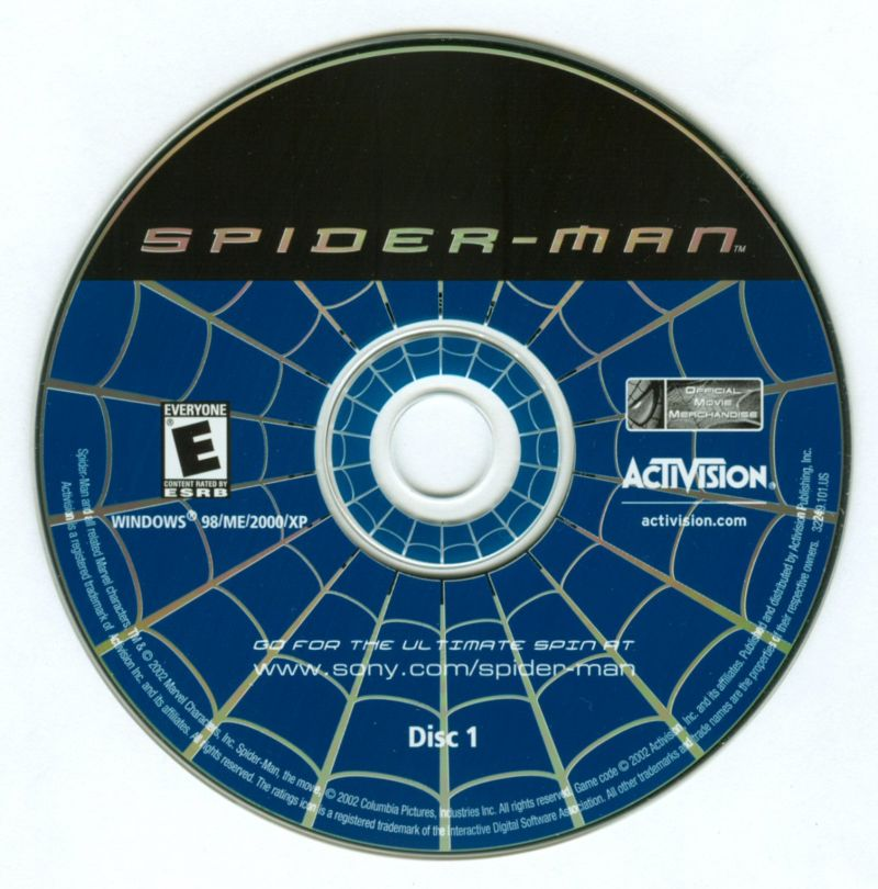 Spider-Man: The Movie Windows Media Disc 1