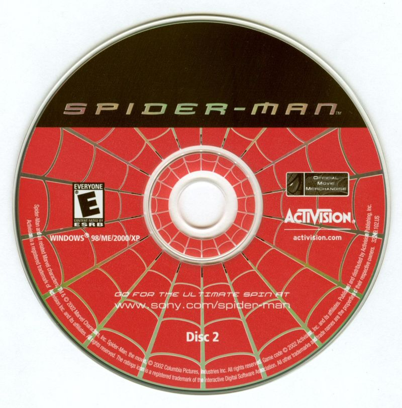 Spider-Man: The Movie Windows Media Disc 2