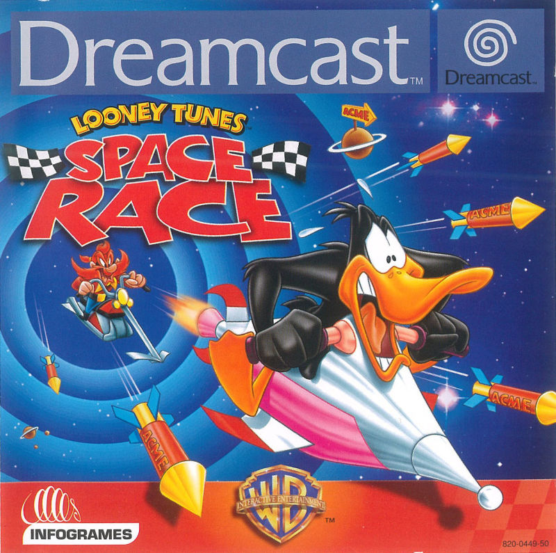 Looney Tunes: Space Race Dreamcast Front Cover
