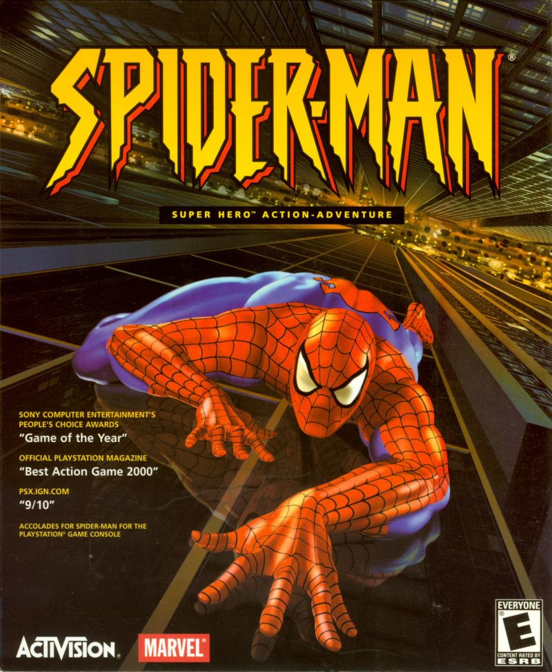 Spider-Man Windows Front Cover