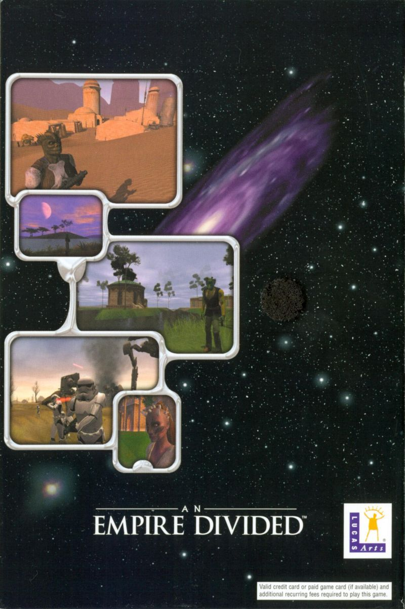Star Wars: Galaxies - An Empire Divided Windows Inside Cover Right Outer Flap