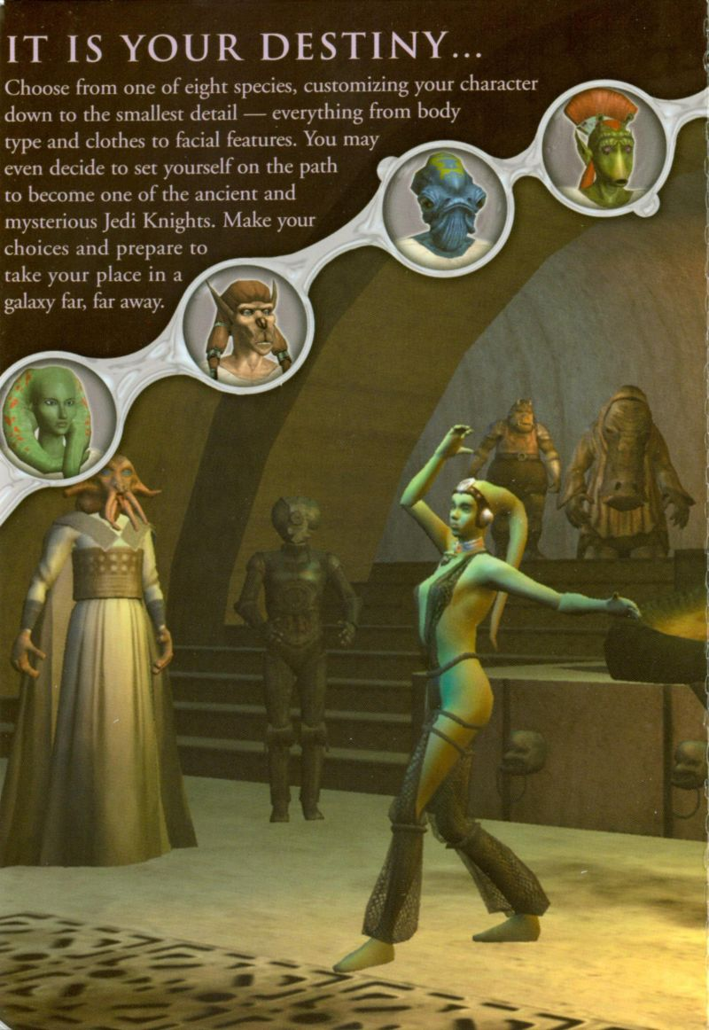 Star Wars: Galaxies - An Empire Divided Windows Inside Cover Center Flap