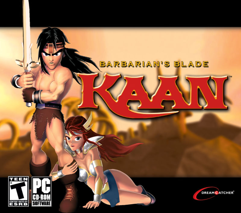 Kaan: Barbarian's Blade  Windows Front Cover