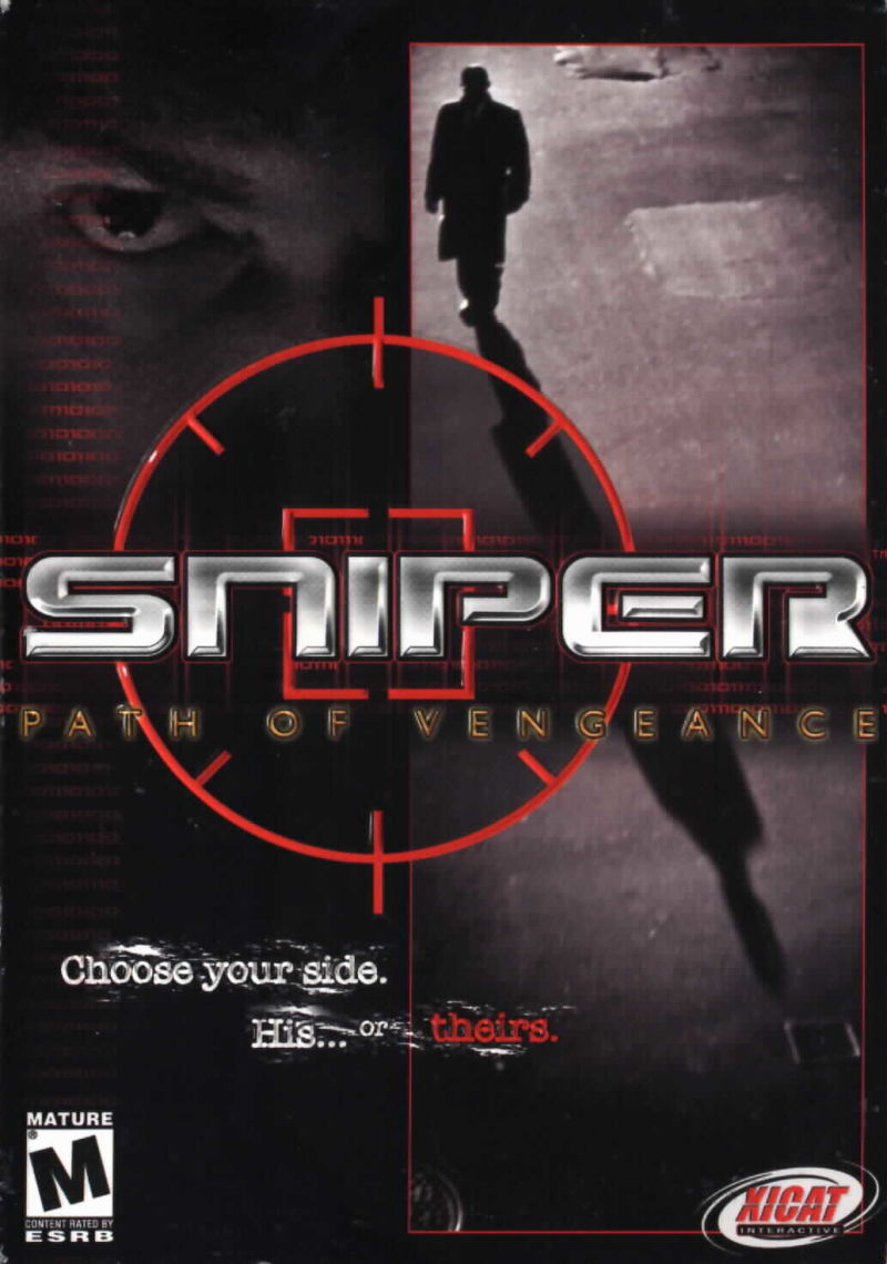 Sniper: Path of Vengeance Windows Front Cover