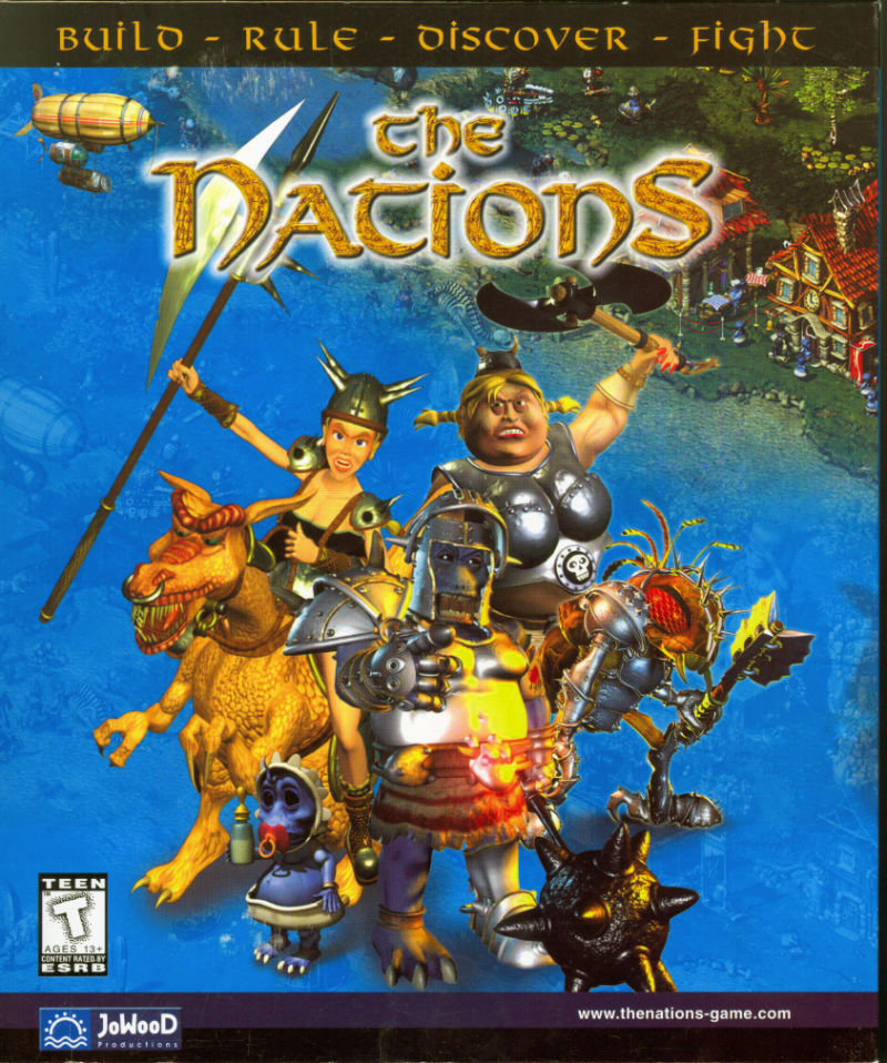 The Nations Windows Front Cover