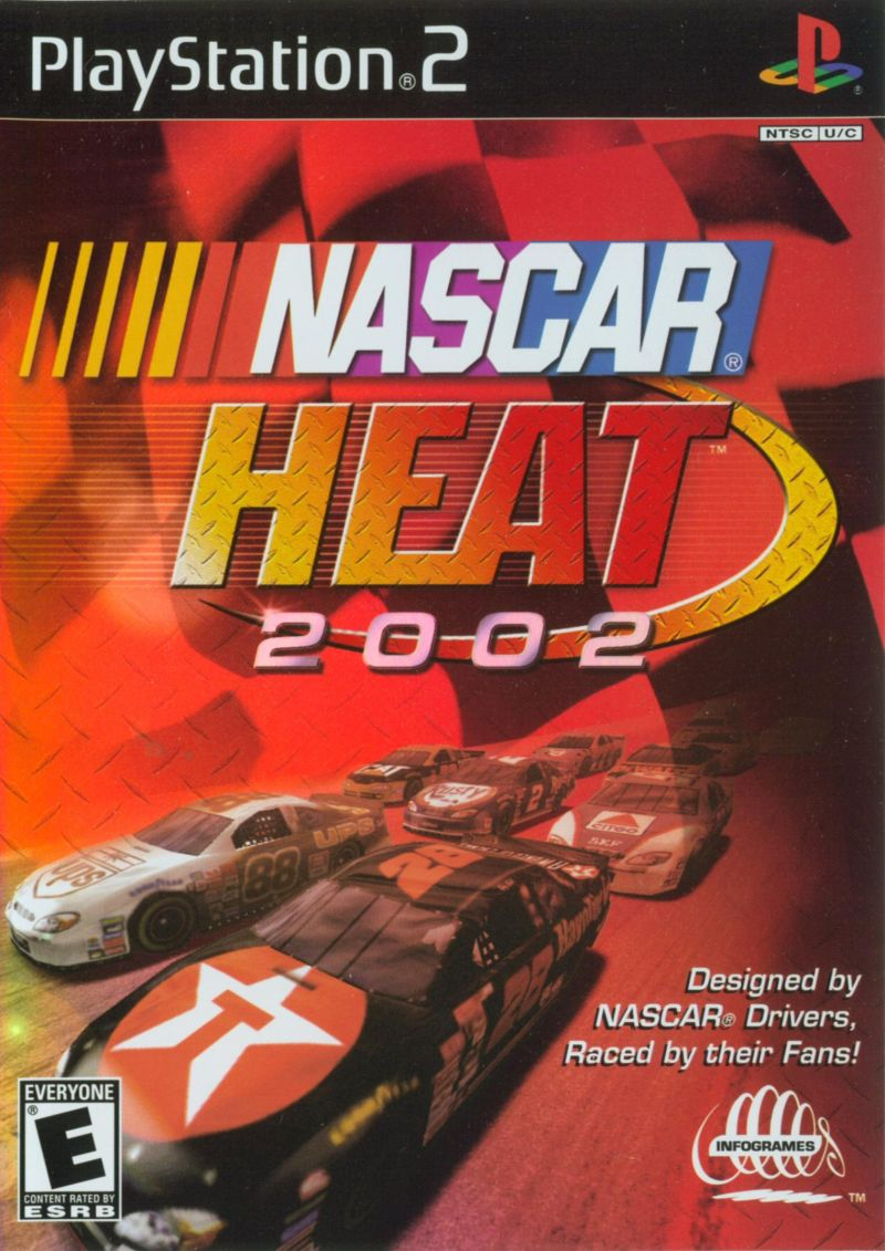 NASCAR Heat 2002 PlayStation 2 Front Cover