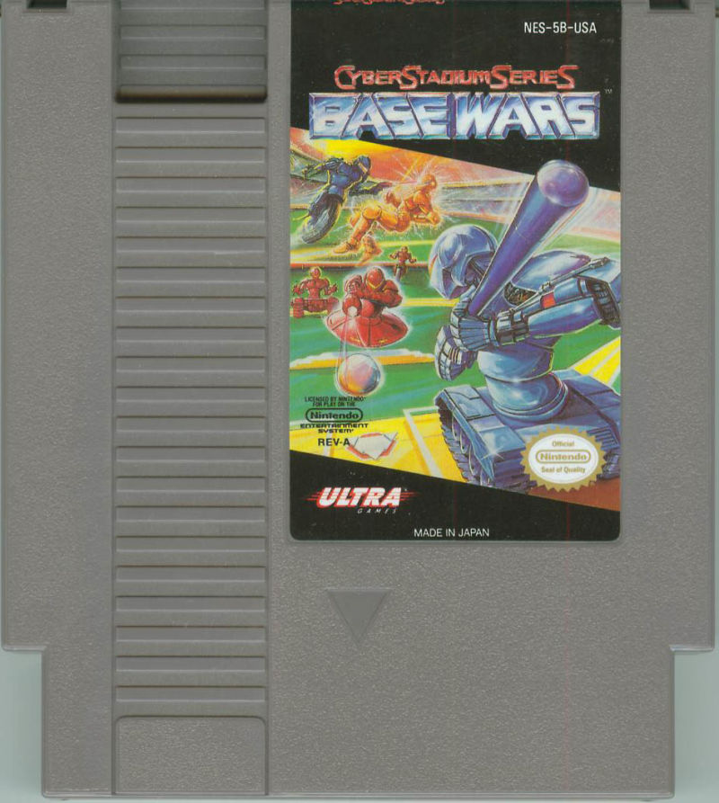 Base Wars - Cyber Stadium Series NES Media