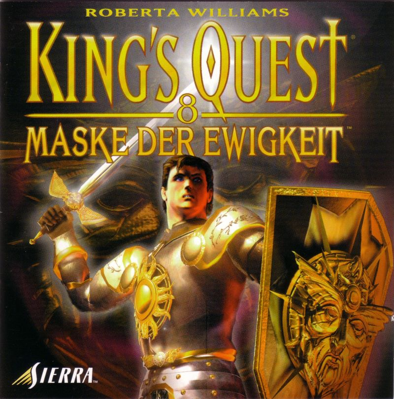 King's Quest: Mask of Eternity Windows Other Jewel Case - Front