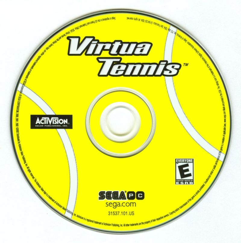Virtua Tennis Windows Media