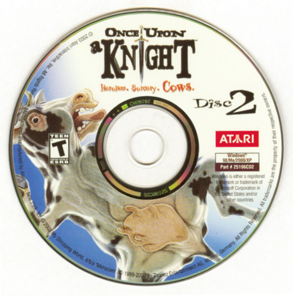 Once Upon a Knight Windows Media Disc 2