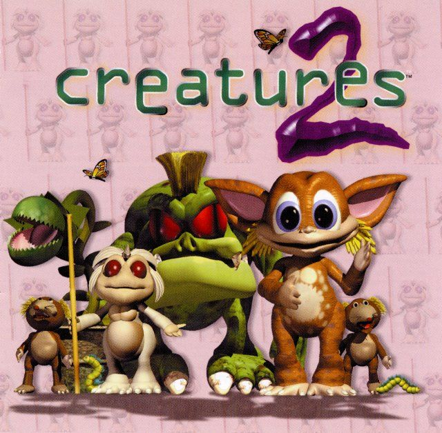 Creatures 2 Windows Front Cover - Game version sold in press.