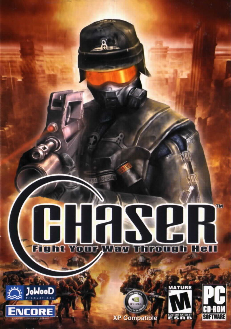 Chaser Windows Front Cover