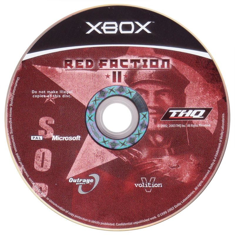 Red Faction II Xbox Media