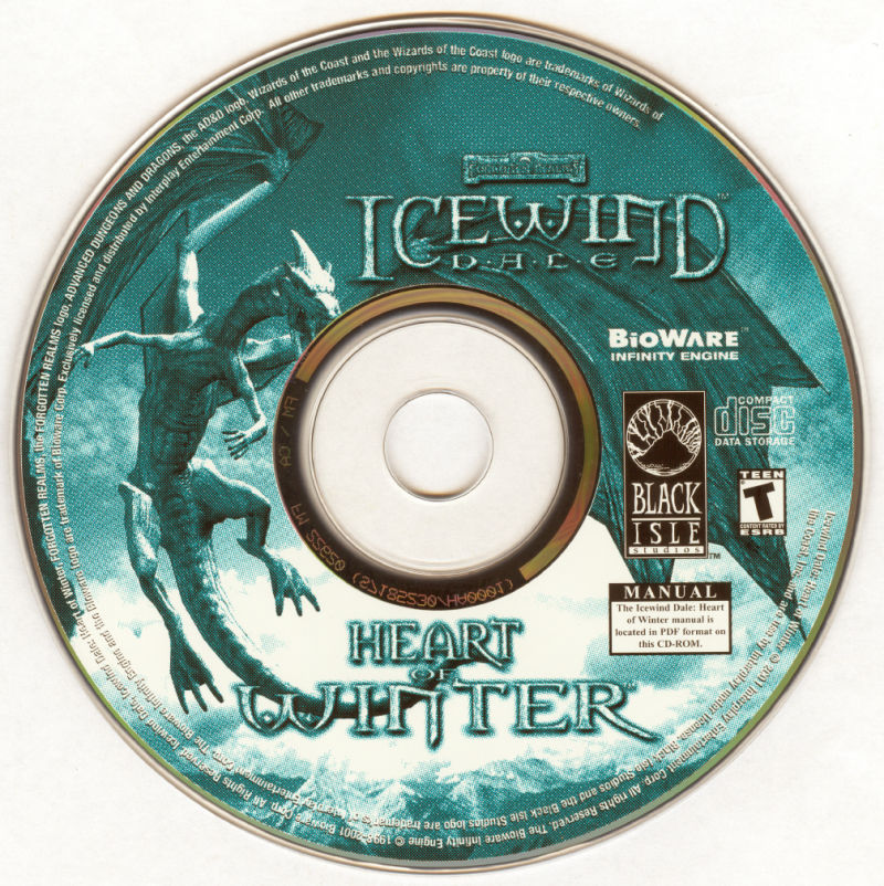 Icewind Dale: The Ultimate Collection Windows Media Icewind Dale: Heart of Winter