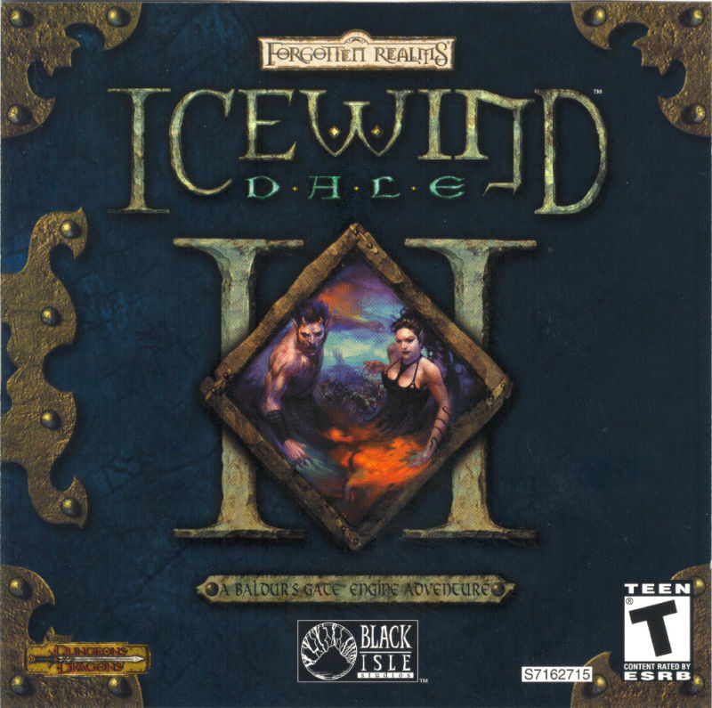 Icewind Dale: The Ultimate Collection Windows Other Icewind Dale II Jewel Case - Front