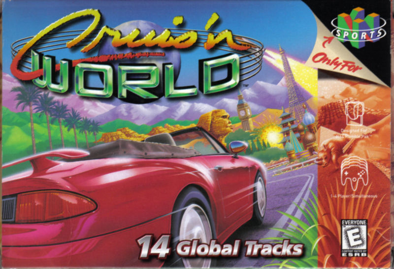 Cruis'n World Nintendo 64 Front Cover