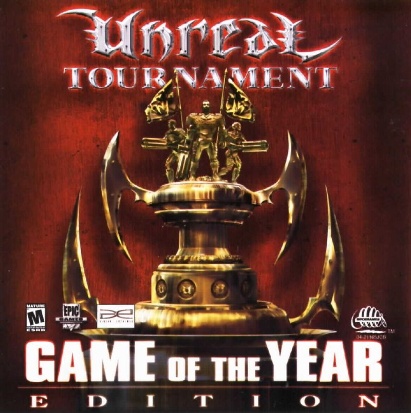 Unreal Tournament: Game of the Year Edition Windows Other Jewel Case - Front
