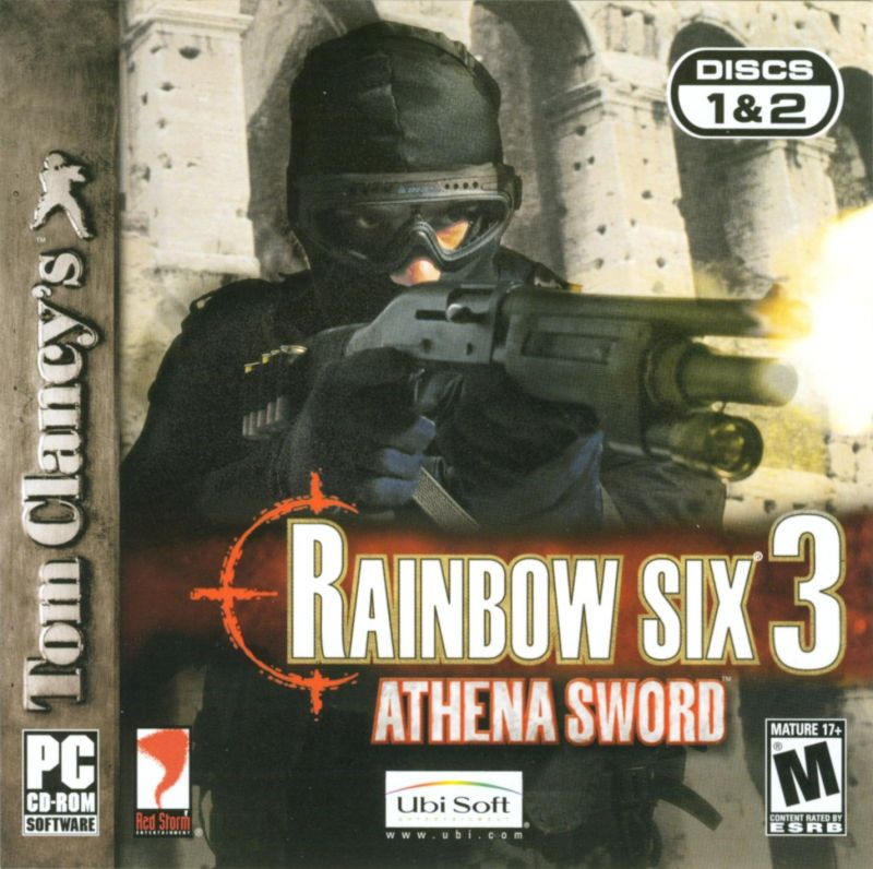 Tom Clancy's Rainbow Six 3: Athena Sword Windows Other Jewel Case - Front