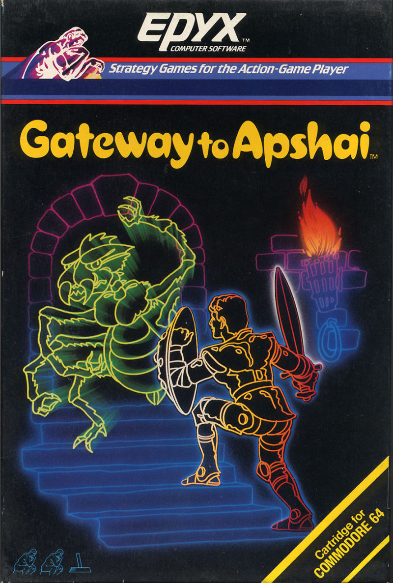 Gateway to Apshai Commodore 64 Front Cover