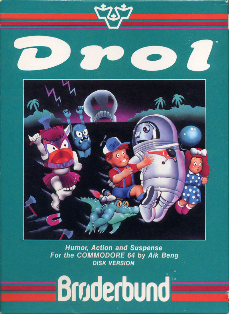 Drol Commodore 64 Front Cover