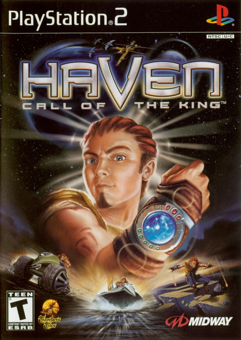 Haven: Call of the King PlayStation 2 Front Cover