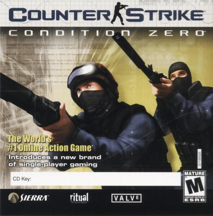 Counter-Strike: Condition Zero Windows Other Jewel Case - Front