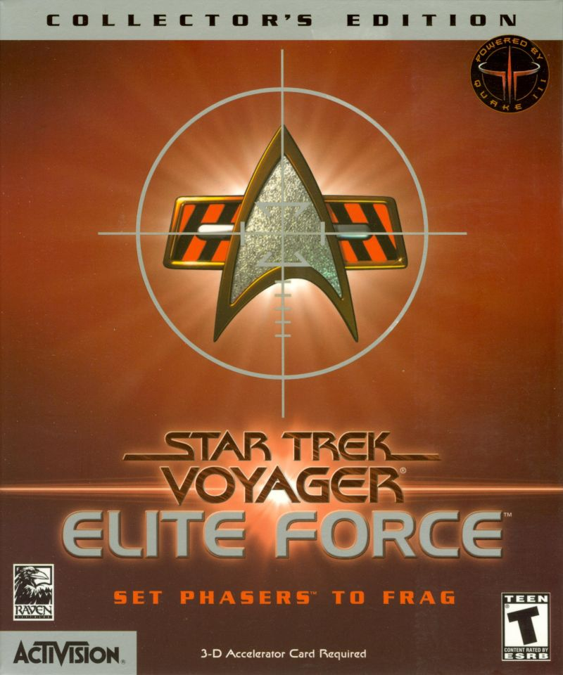 Star Trek: Voyager - Elite Force (Collector's Edition) Windows Front Cover Outer Sleeve