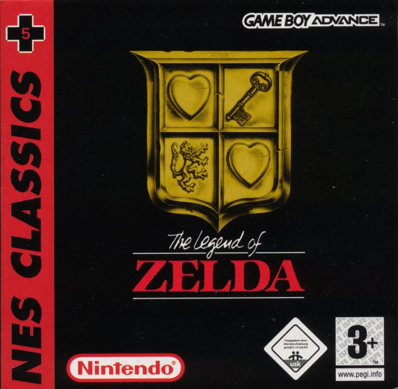 The Legend of Zelda Game Boy Advance Front Cover