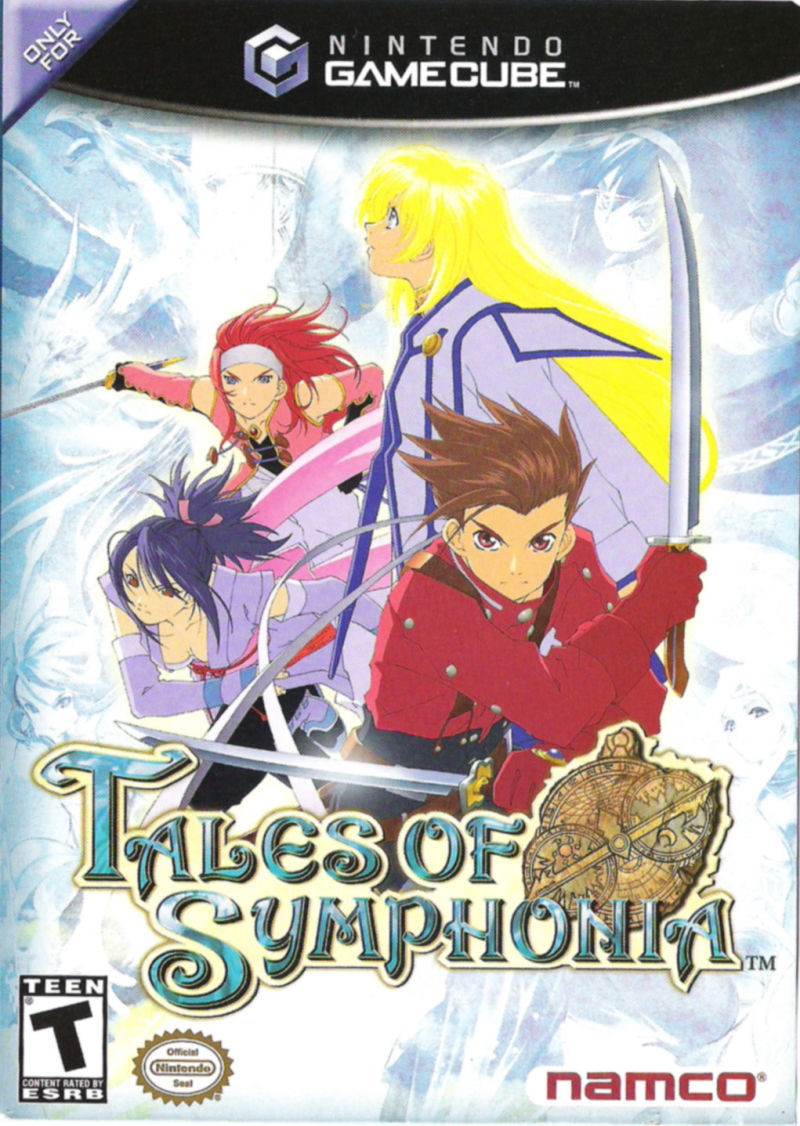 Tales of Symphonia GameCube Front Cover
