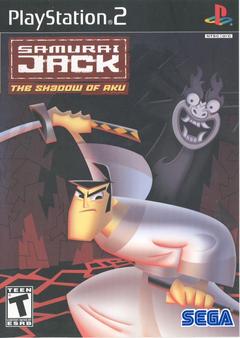 Samurai Jack: The Shadow of Aku PlayStation 2 Front Cover