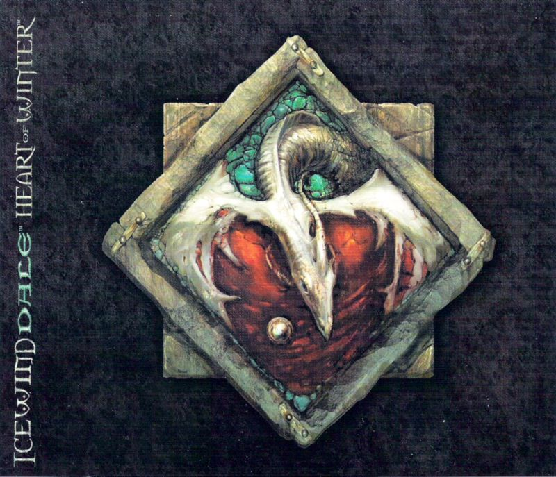 Icewind Dale: Heart of Winter Windows Other Jewel Case - Right Inlay
