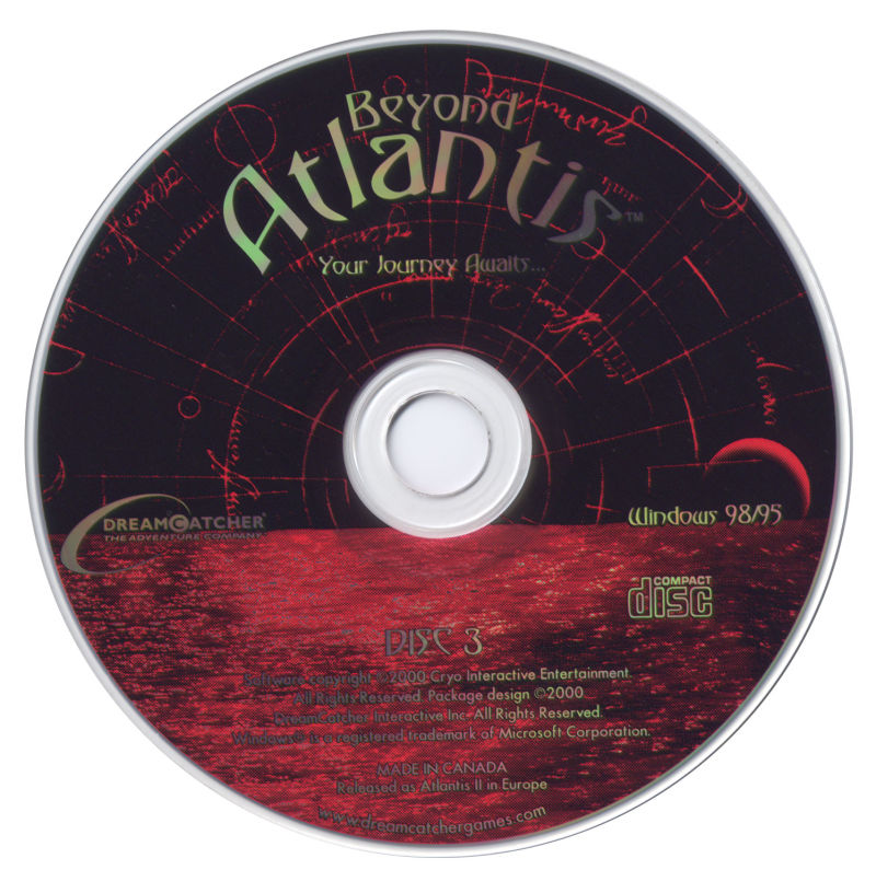 Beyond Atlantis Windows Media Disc 3