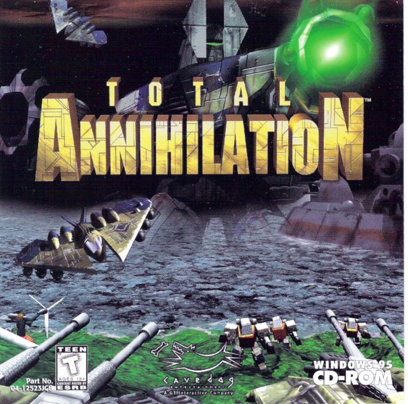 Total Annihilation Windows Other Jewel Case - Front