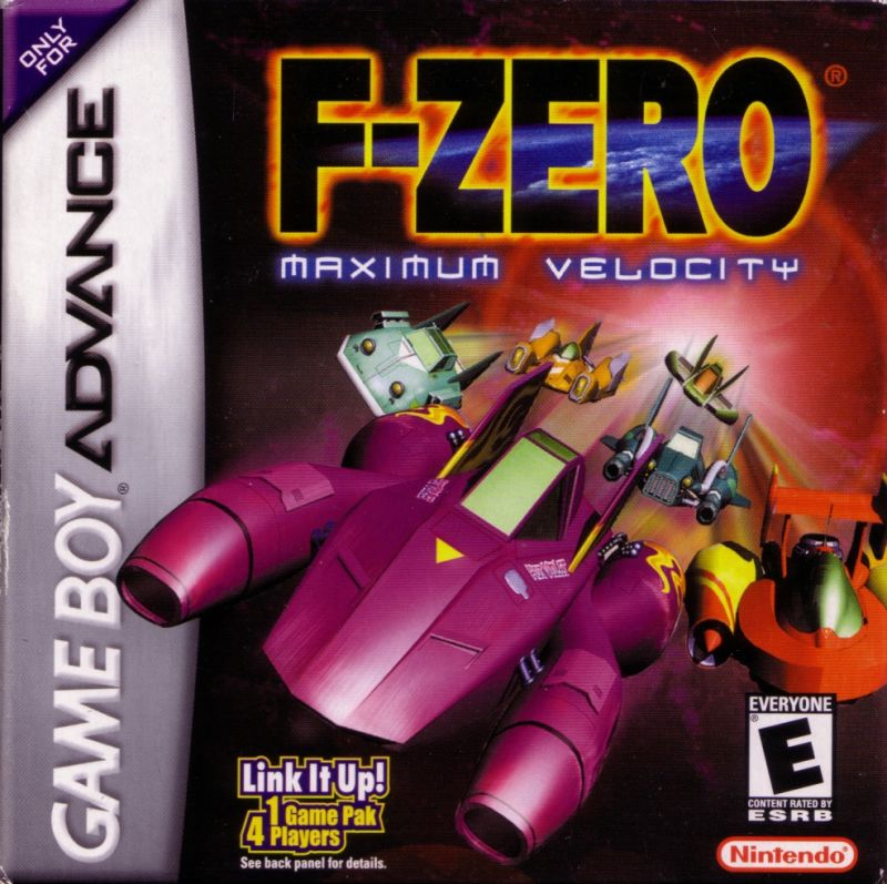 F-Zero: Maximum Velocity Game Boy Advance Front Cover