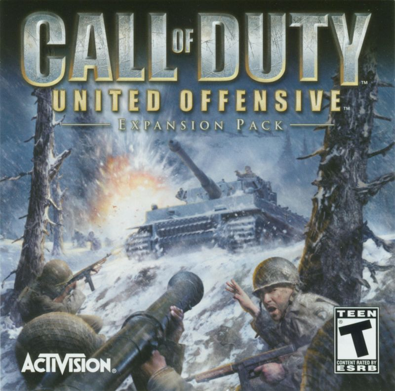 Call of Duty: United Offensive Windows Other Jewel Case - Front