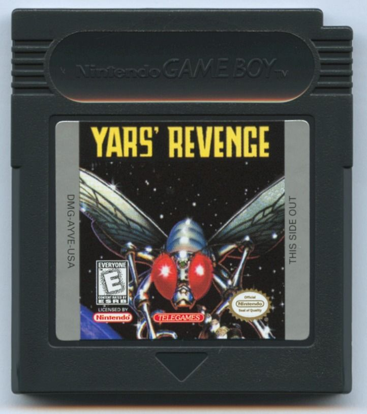 Yars' Revenge Game Boy Color Media