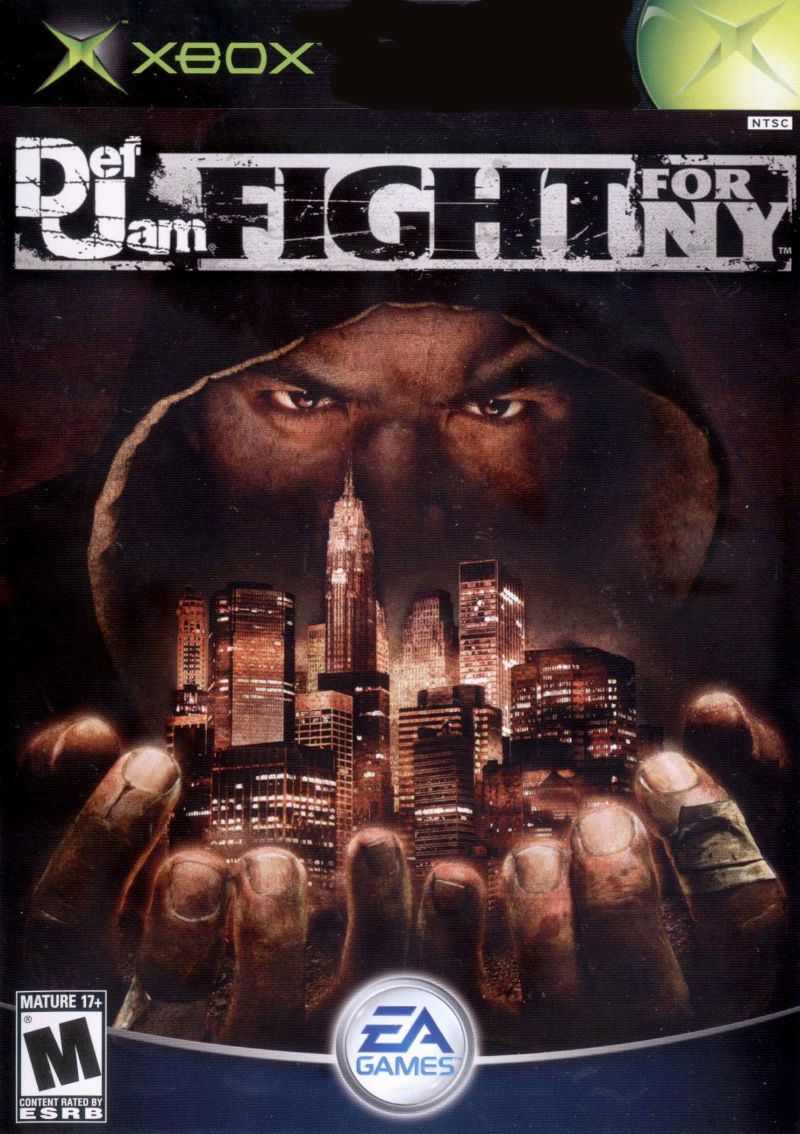 Def Jam: Fight for NY Xbox Front Cover