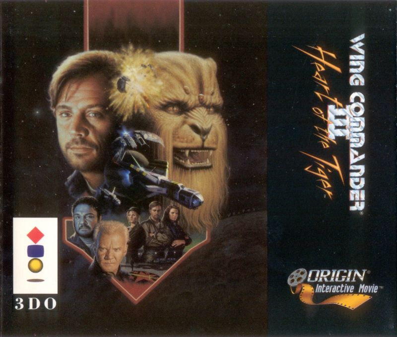Wing Commander III: Heart of the Tiger 3DO Front Cover