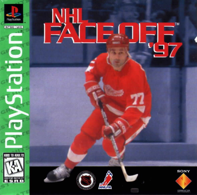 NHL FaceOff '97 PlayStation Front Cover