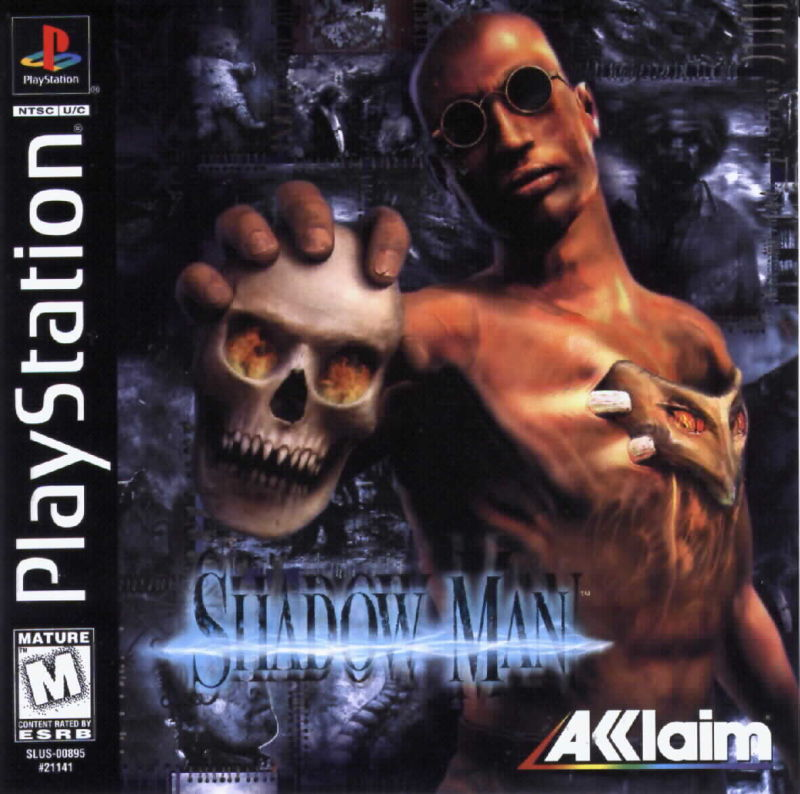 Shadow Man PlayStation Front Cover